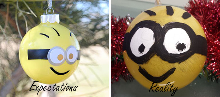 Chritsmas Fail Minion Decor
