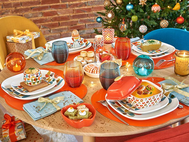 Mesas de Navidad 2017 vintage