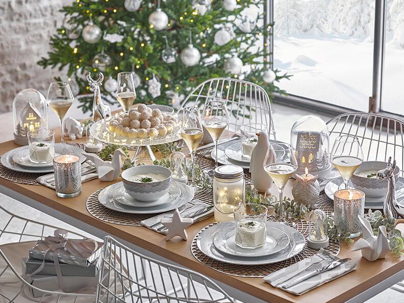 Mesas de Navidad 2017 white