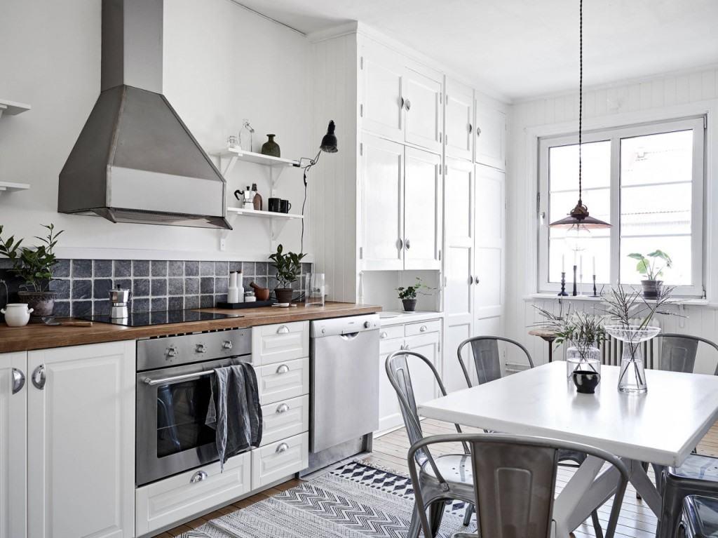 Decorar en gris cocina