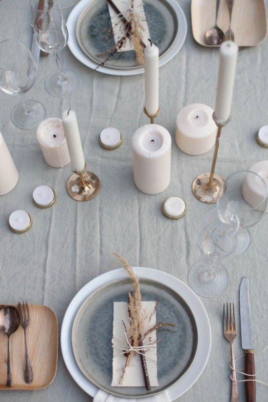 El perfecto anfitrión en Navidad - la mesa