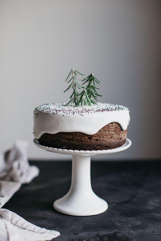 Detalles navideños para tartas
