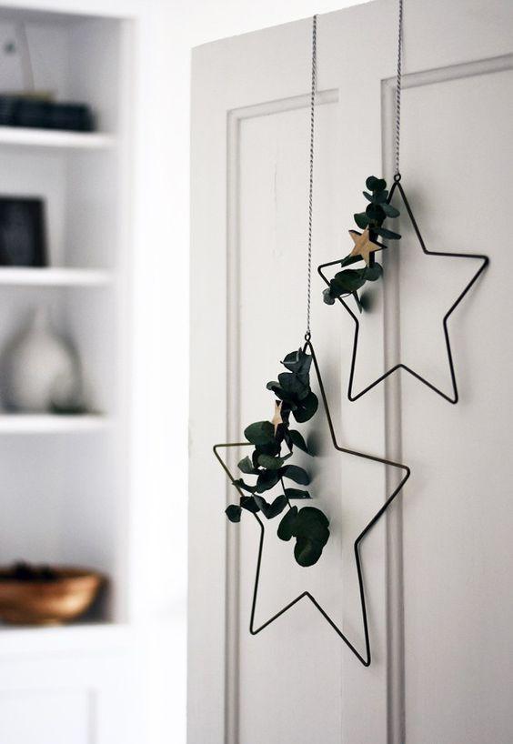 Detalles navideños estrellas