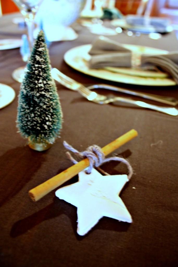 Mesa de Navidad - detalles