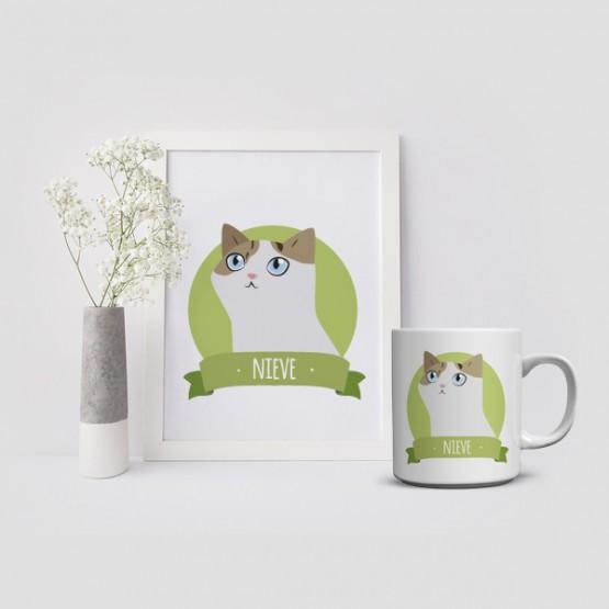 Carta a los Reyes Magos retrato gato personalizado
