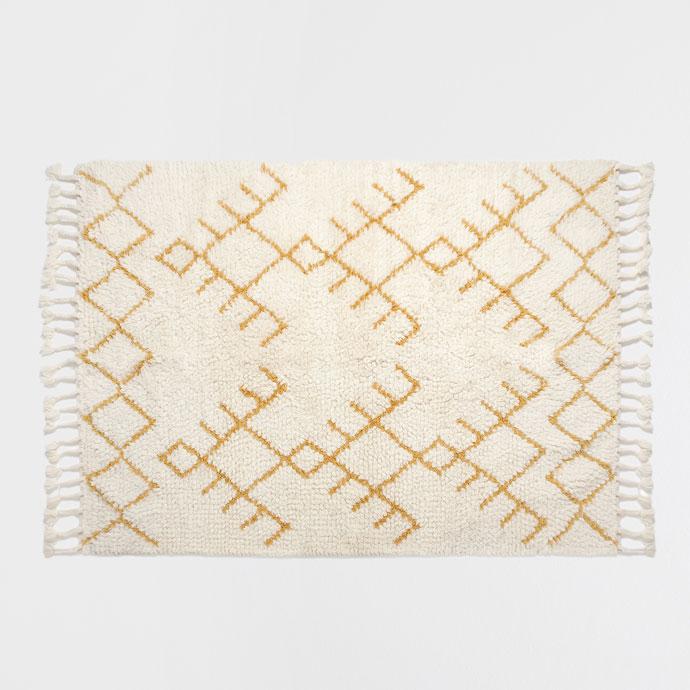 rebajas en decoración alfombra zara