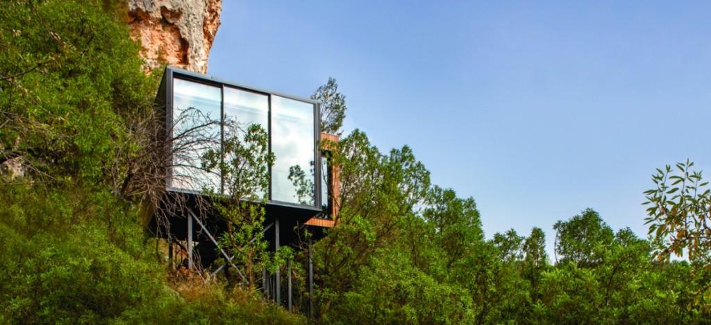 Hotel para dos entorno natural