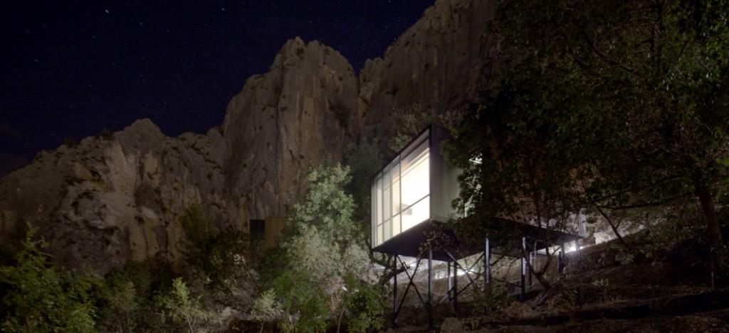 Hotel para dos diseño sostenible