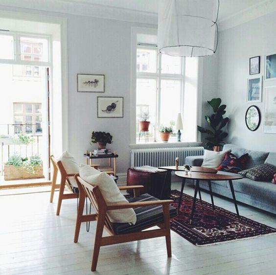 Tendencias en decoración nórdica 2017 muebles