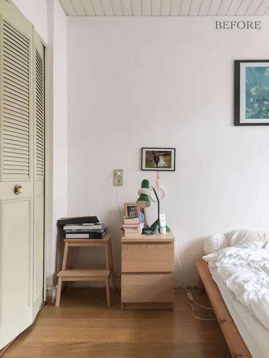 Dormitorio nórdico Before