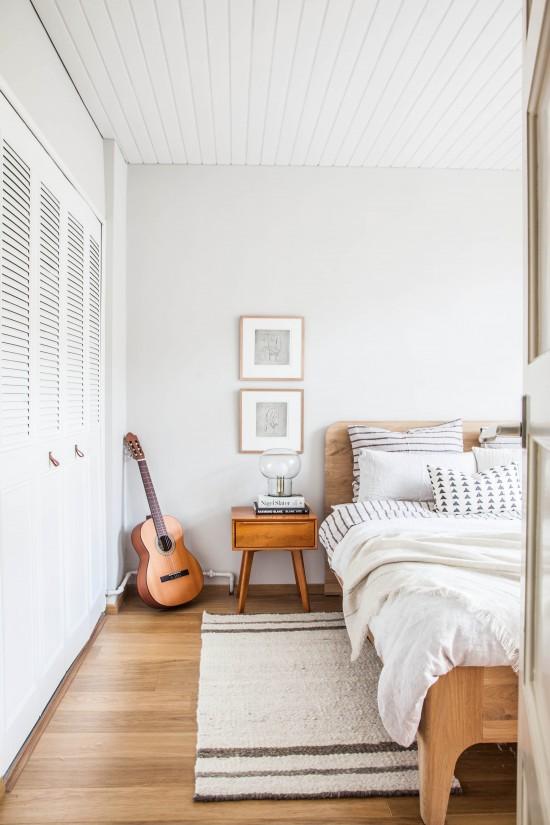 Dormitorio nórdico reforma