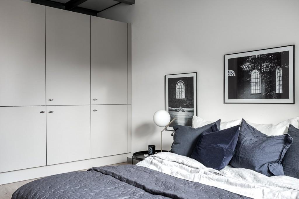 Ático con estilo nórdico industrial dormitorio 2
