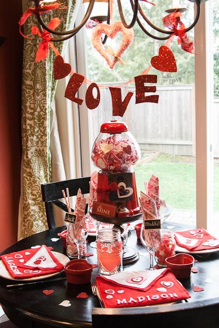 Decoración de San Valentín - así no