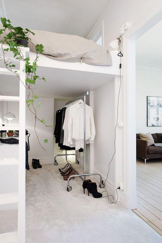 Decorar un dormitorio multiusos con estilo nórdico