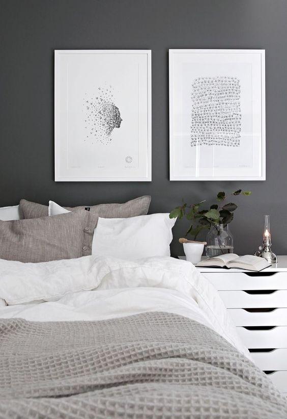 Redecorar dormitorio de estilo nórdico mesitas de noche