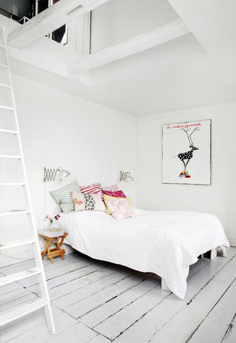Redecorar un dormitorio con estilo nórdico textiles