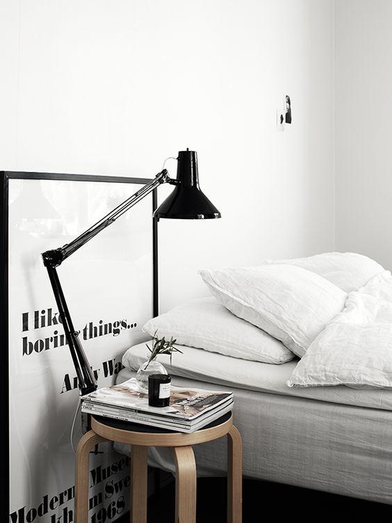 Redecorar dormitorio de estilo nórdico print art