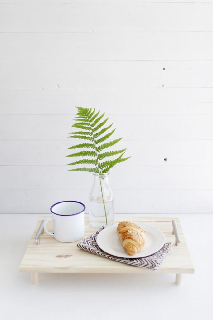 mesa del día del padre desayuno
