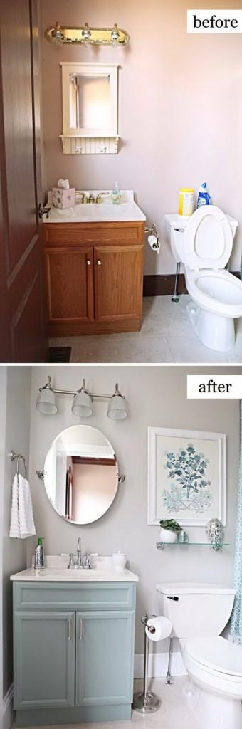 Soluciones low cost para renovar un baño con pintura