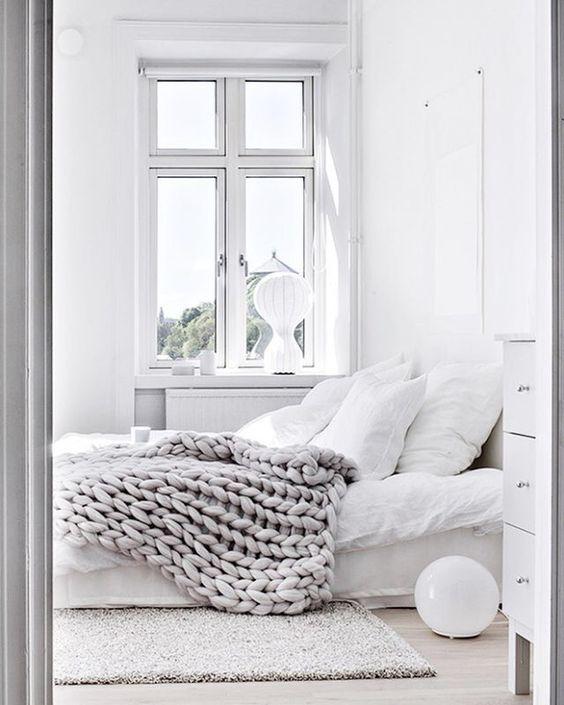 Renovar un dormitorio de estilo nórdico paredes