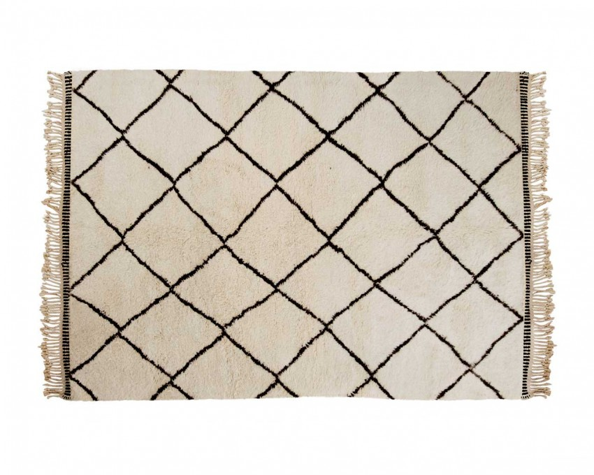 Decorar una entrada con estilo nórdico alfombra