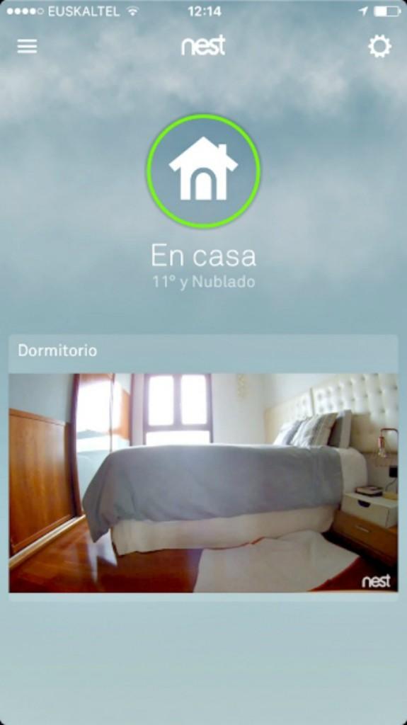App Cámara de seguridad Nest Indoor