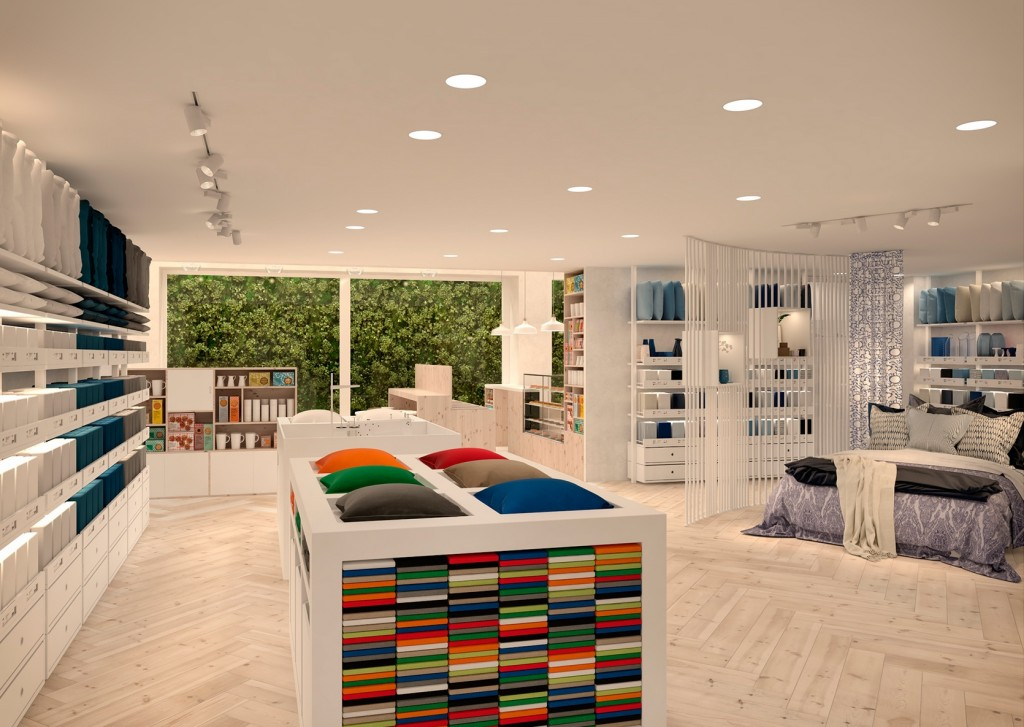 Ikea Temporary dormitorios en Serrano