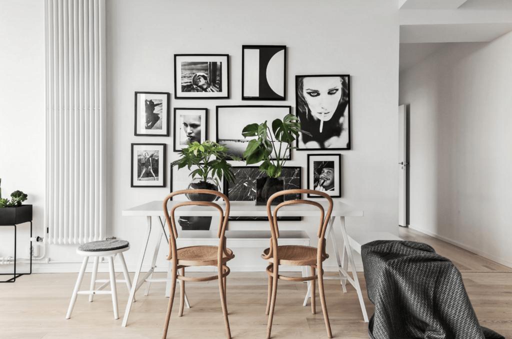 Decorar las paredes unificar tonos
