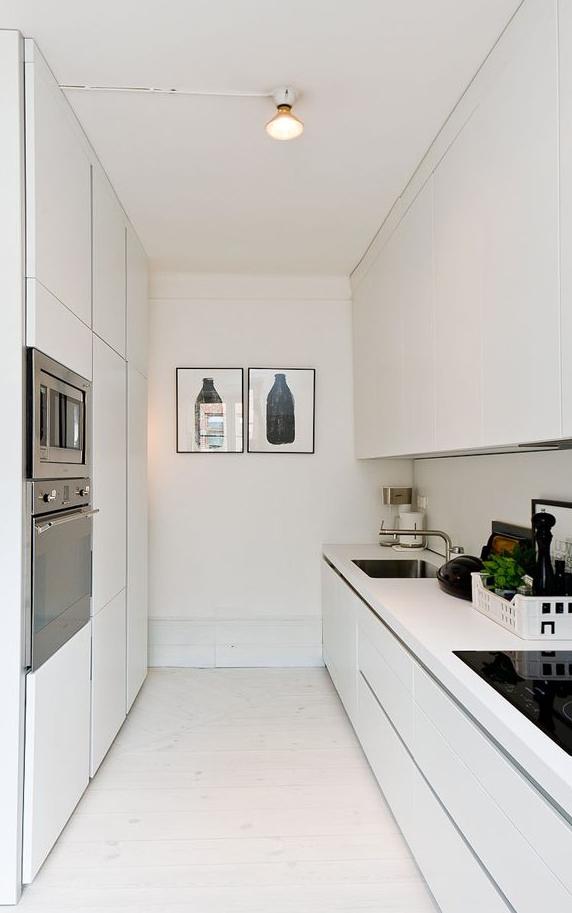 Errores al decorar una cocina iluminación