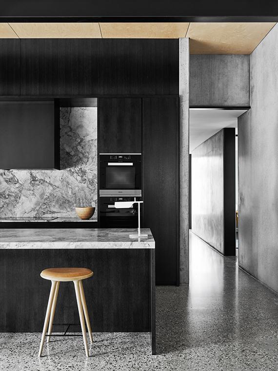 Suelos de terrazo en cocinas
