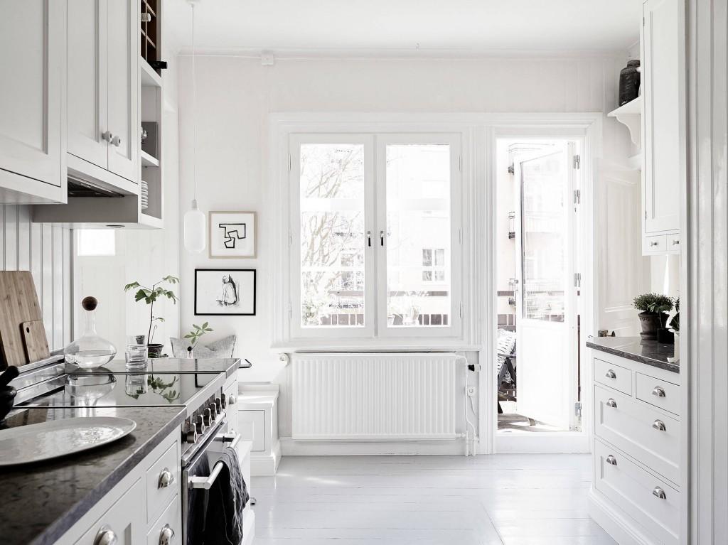 Casa familiar renovada en Finlandia cocina 2