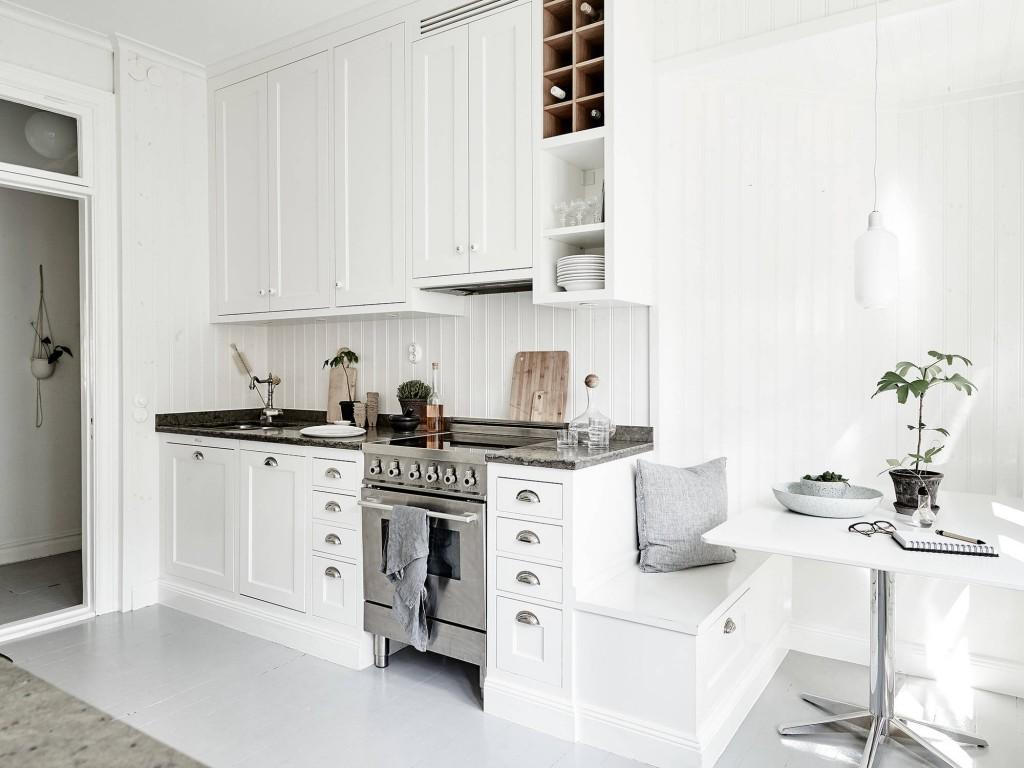 Casa familiar renovada en Finlandia cocina 3