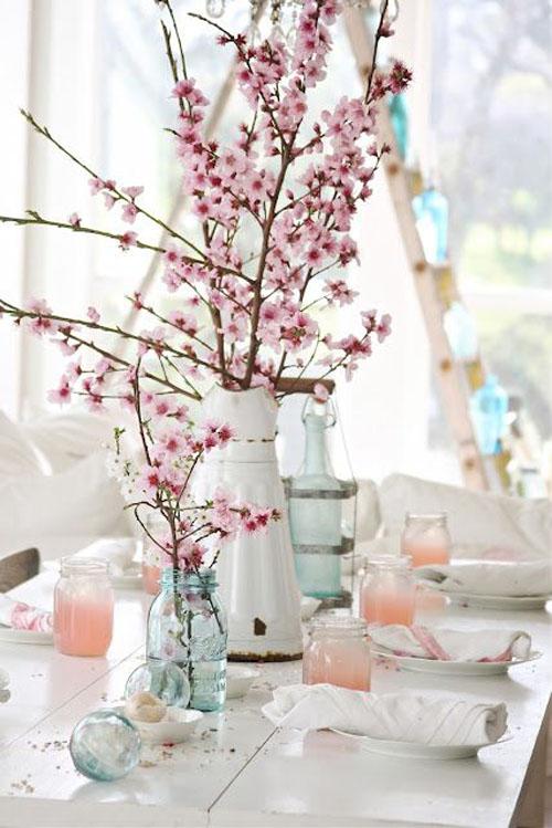 Mesas para el día de la madre ramas