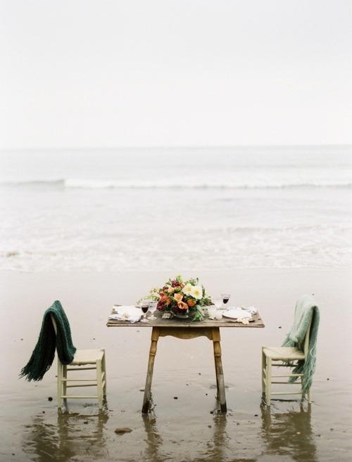 Mesas románticas