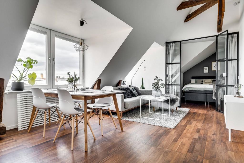 Apartamento con pocos metros