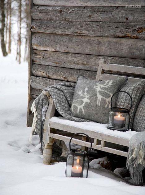 Decoración de Navidad de inspiración nórdica