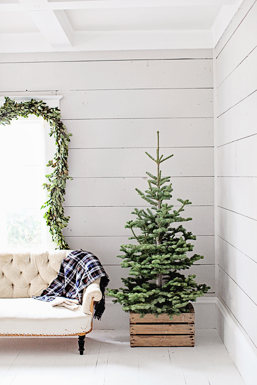 Decoración navideña con inspiración nórdica