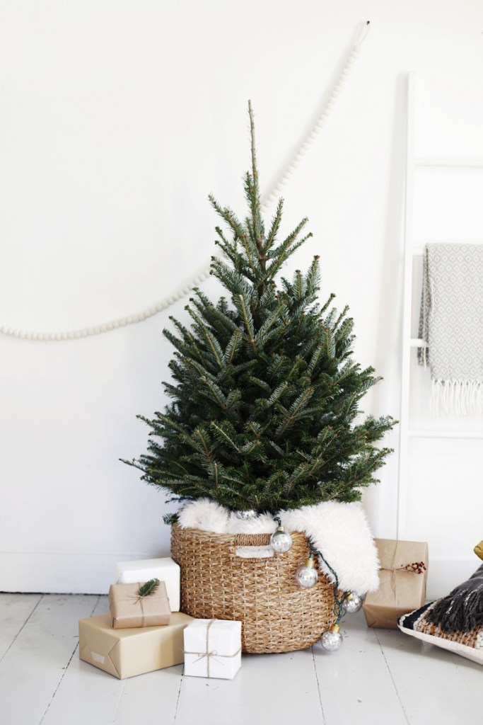 Decoración de Navidad con inspiración nórdica