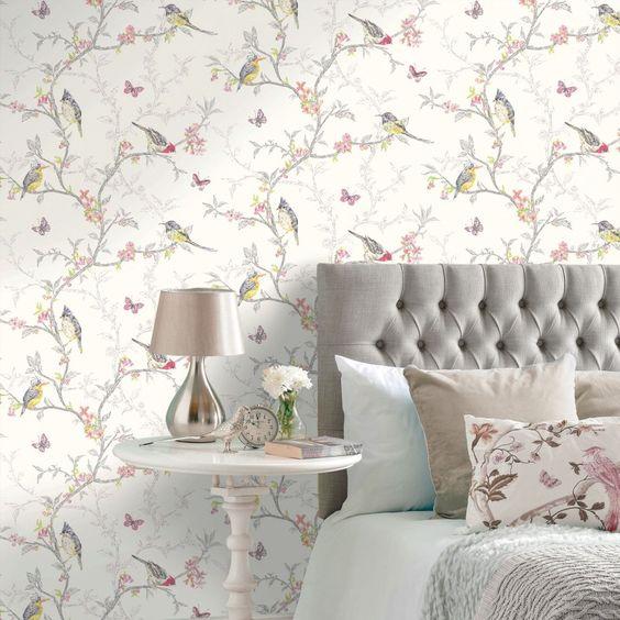 Papel pintado Gaulan dormitorio