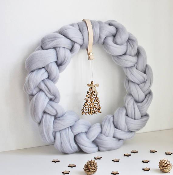 Decoración navideña de inspiración nórdica