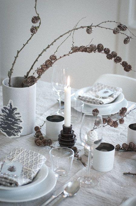 Detalles de última hora para la mesa de Navidad