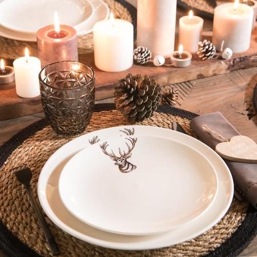 alternativa a la mesa de Navidad natural
