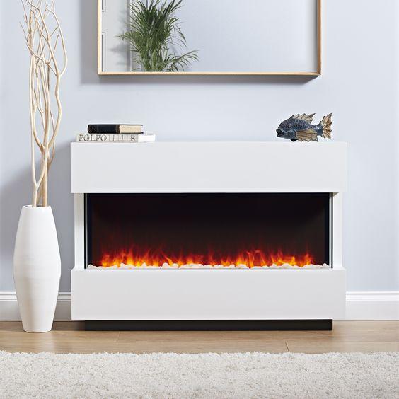 chimeneas para pisos pequeños sin llamas