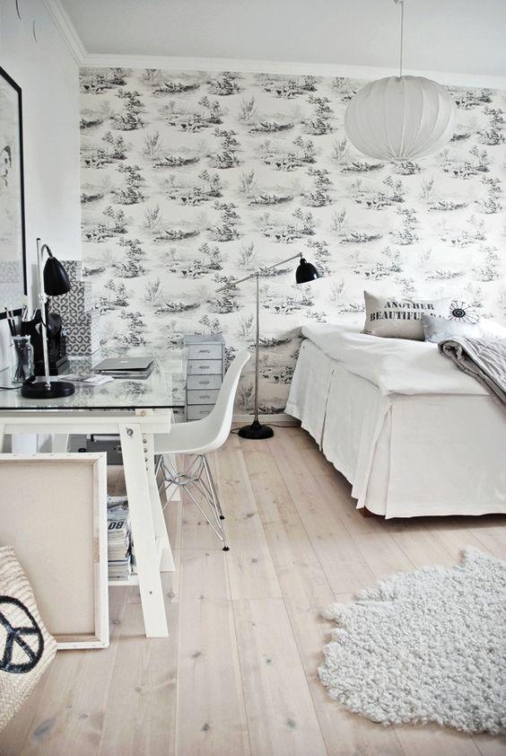 Integrar una zona de trabajo en un dormitorio