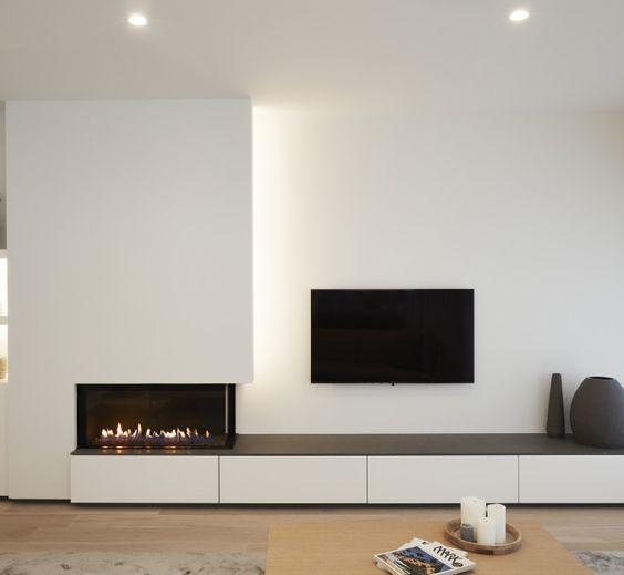 Opciones en chimeneas para pisos pequeños