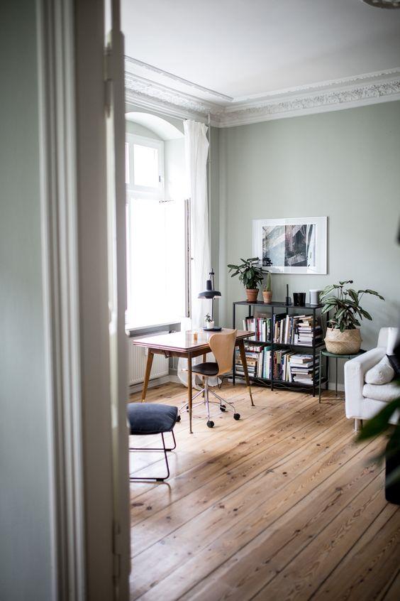 Integrar zona de trabajo en un dormitorio o salón
