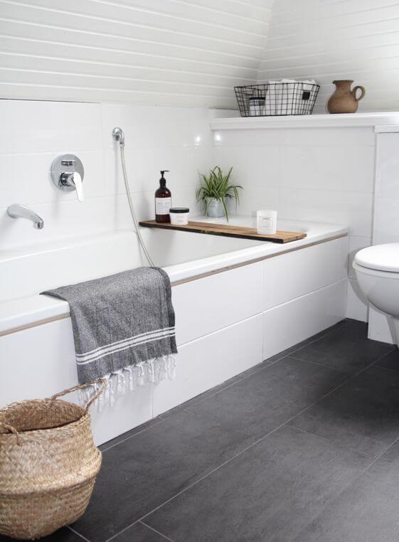 el orden en casa baños