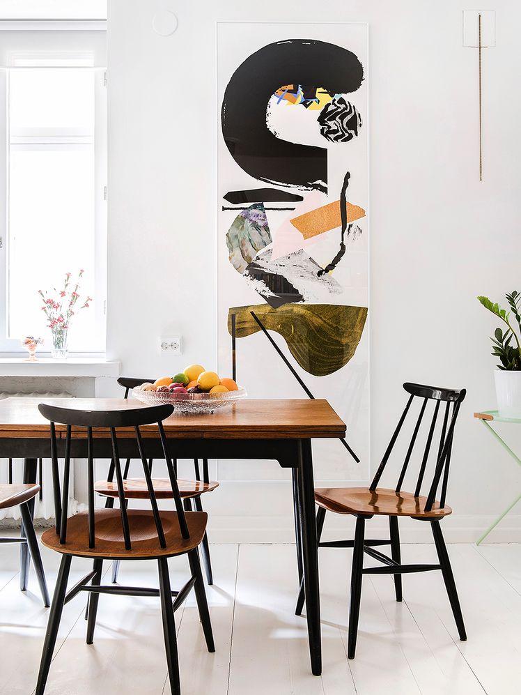Inspiración años 50 mesa de comedor