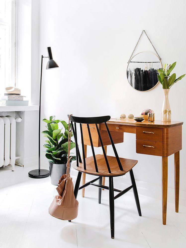Inspiración años 50 escritorio