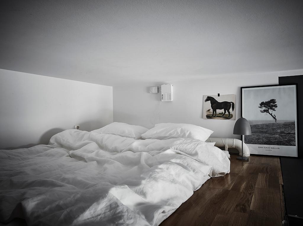 Inspiración de estilo nórdico dormitorio de invitados